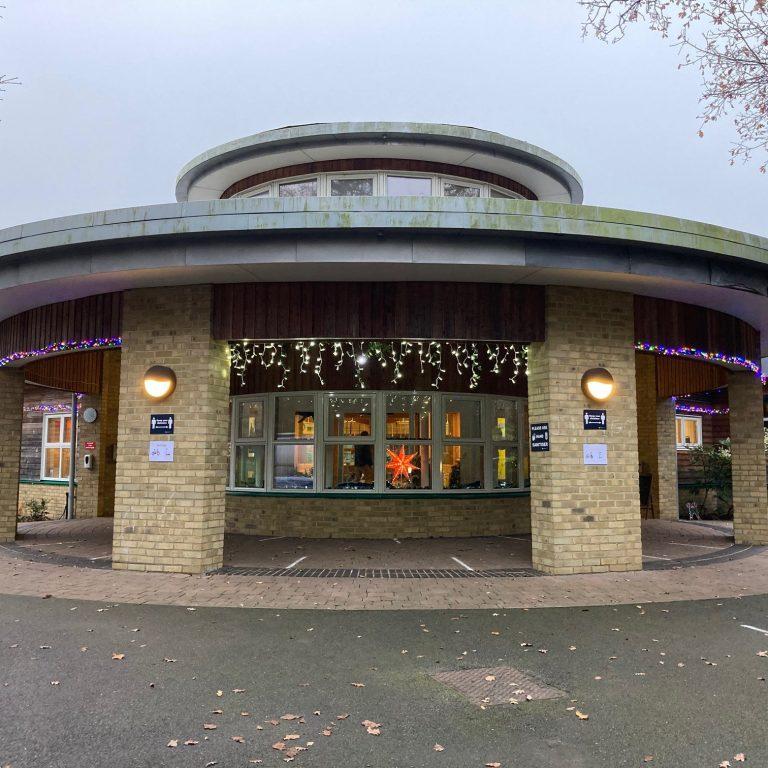 circular building at Dulwich prep school